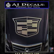 Cadillac New Shield Decal Sticker A1 Decals