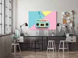 Kids Radio Poster Print Best Music Stuff
