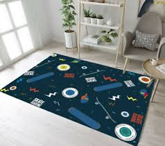 Sports Theme Skate Boarding Area Rugs Kids Bedroom Carpet Living Room Floor Mat Ebay