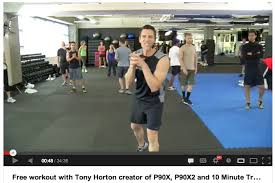 free 30 minute workout with tony horton