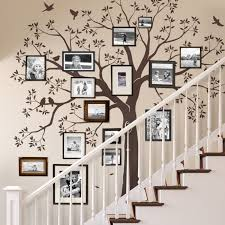 Staircase Family Tree Wall Decal Tree Wall Decal Organic Giant Family Tree Wall Decal Tree Wall Decal Sticker