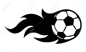 Vector Illustration Of Football Soccer Ball With Simple Flame Royalty Free Cliparts Vectors And Stock Illustration Image 105651378