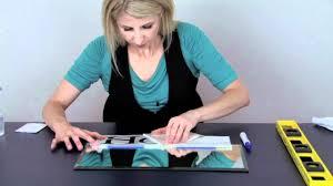 How To Apply Vinyl Lettering Using The Wet Method Youtube