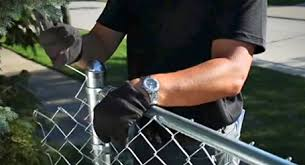 How To Install A Chain Link Fence The Home Depot