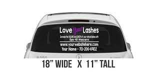 Mascara Decal Love Your Lashes Car Decal Epic Mascara Etsy