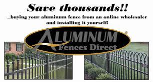 Aluminum Fence Aluminum Fencing Aluminum Fences Direct