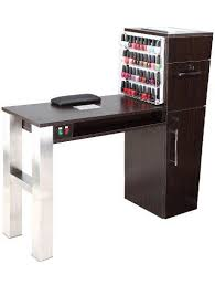 salon manicure tables with vent and fan