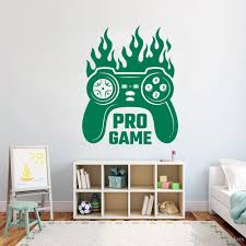 Ps4 Fever Gamer Controller Wall Sticker X Box Video Game Wall Decal Home Decor For Boys Bedroom Removeable Vinyl Art Mural Quotes Stickers For Walls Quotes Wall Stickers From Joystickers 11 75 Dhgate Com