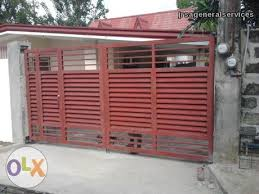 Steel Fence Philippines Google Search Backyard Fences Front Yard Fence Brick Fence
