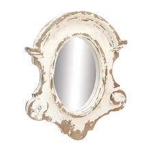shabby chic framed wall mirror 14820