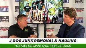 SPACE COAST DAILY TV BUSINESS SPOTLIGHT: Vet-Owned JDog Junk Removal &  Hauling Can Remove Old Items of All Kinds