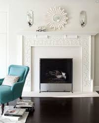 chic living room design with white