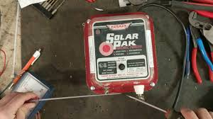 Parmak Solar Pak 6v Electric Fencer Youtube