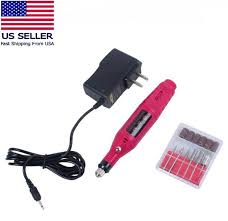 pinkiou electric nail drill kit