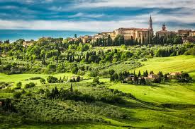 Pienza in provincia di Siena