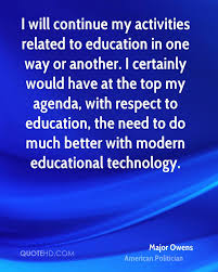major owens technology quotes quotehd