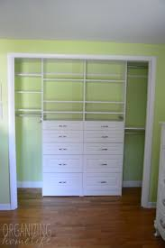 Organizing A Shared Kids Room Closet Easyclosets Makeover The Reveal Organizing Homelife
