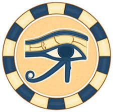 The Eye Of Horus Ancient Egyptian Symbol Sticker