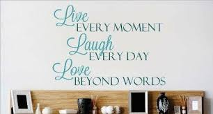 Design With Vinyl Live Every Moment Wall Decal Wayfair