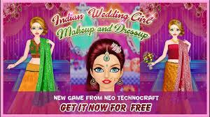indian wedding makeup and dressup