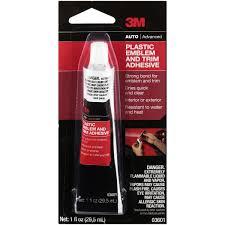 3m Plastic Emblem And Trim Adhesive 03601 1 Oz Tube Walmart Com Walmart Com
