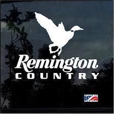 Remington Country Duck Hunting Window Decal Sticker Custom Sticker Shop