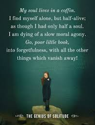 how to be alone out being lonely inspirational quotes on