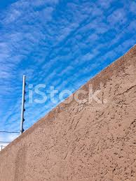 View Of An Electric Fence Installation On A Concrete Wall Stock Photos Freeimages Com