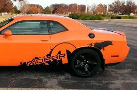 Dodge Challenger R T Mopar Splash Decal Vinyl Stickers