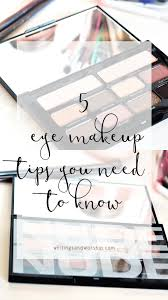 5 eye makeup tips you need to know