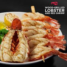 wood-grilled Maine lobster ...