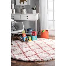 Round Kids Rugs Rugs The Home Depot