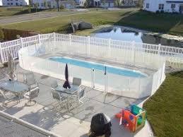 Black White Brown Tan Pool Fences Pool Fence Color Options