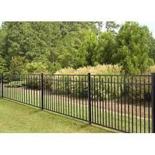 4 Ft H X 7 Ft W Traditional Classic Fence Panel In 2020 Metal Fence Panels Vinyl Fence Panels Aluminum Fence
