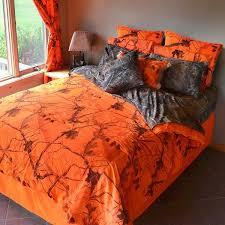 ap blaze orange camo comforter ez