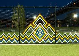 Exterior Installations Fence Art Fence Weaving Outdoor Art