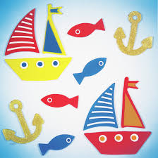 Zoomie Kids Large Sailing Duo Window Decal Wayfair