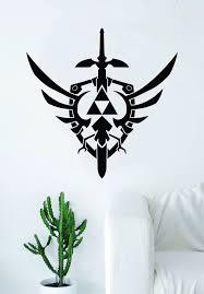 Triforce Zelda Master Sword Logo Gamer Video Game Decal Sticker Wall V Boop Decals