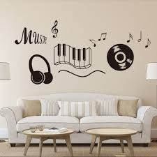 Musical Symbols Music Button Vinyl Wall Decal Home Decor Classroom Living Room Art Mural Removable Wall Stickers Wall Sticker Removable Wall Stickersdecoration Classroom Aliexpress