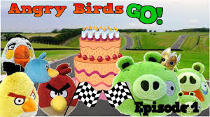 Angry Birds Go! episode 1 - YouTube