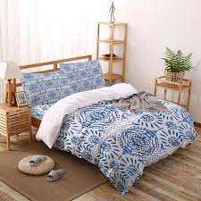 ethnic style tie dye bedding set four