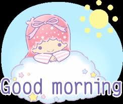 Resultado de imagen para GOOD MORNING hello kitty