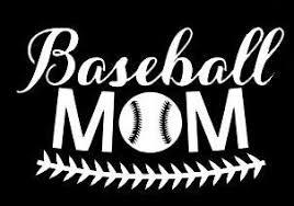 Amazon Com Lli Baseball Mom Decal Vinyl Sticker Cars Trucks Vans Walls Laptop White 5 5 X 3 4 In Lli1227 Automotive