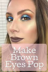 blue eyeshadow makeup tutorial for