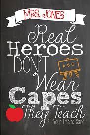 cute teacher gift personalized teacher appreciation quote