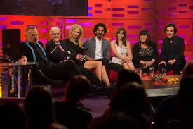 FELICITY JONES at The Graham Norton ...