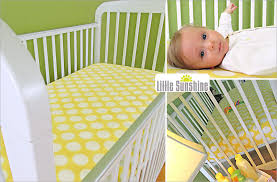 fitted crib sheet in cozy fleece sew4home