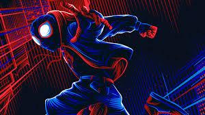 spiderman ilration 4k hd