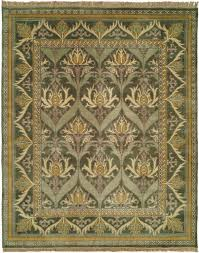hand knotted reproduction craftsman rug