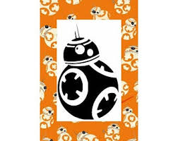 Bb8 Decal Etsy